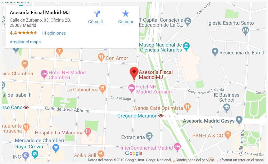 Calle de Zurbano, 83, Oficina 2B, 28003 Madrid